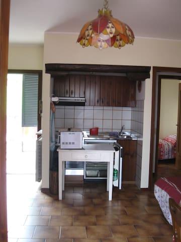 Trilocale ottimo per famiglie - Parre - Wohnung