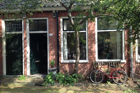 Lovely house with sunny garden - Groningen - House