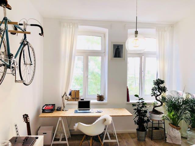 Central Bright & Light Studio Apartment