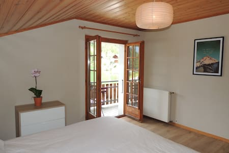 Double room with lake view - Mt Blc - Orsières