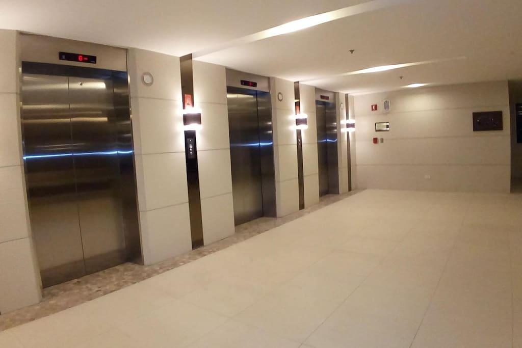 3 elevators
