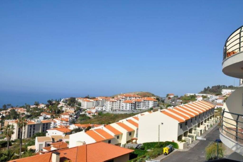 Vue du balcon sur l'océan (sud-ouest)