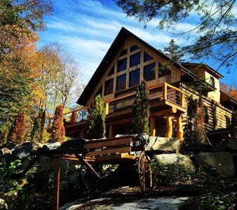 beautiful log cabin amazing view - Chalet