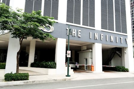 High in Bonifacio Global City - the Infinity Tower - Taguig City