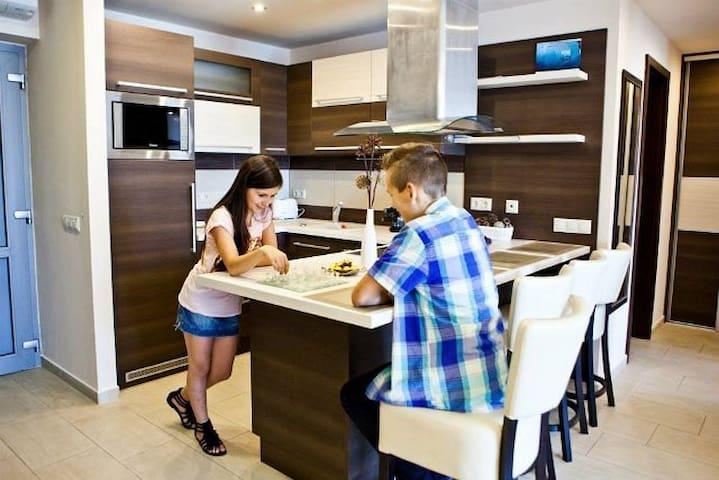 1 hálószobás apartman erkéllyel - Sárvár - Daire