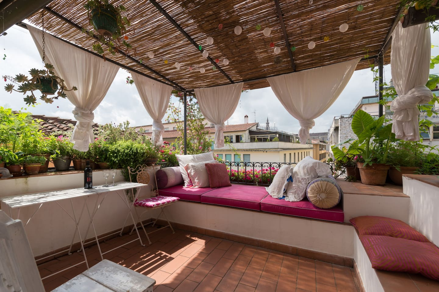 Terrazza fiorita in S. Croce - Apartments for Rent in Florence ...