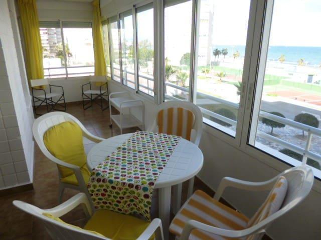 1ª línea Playa, Gran apartamento - Urbanova - Apartment