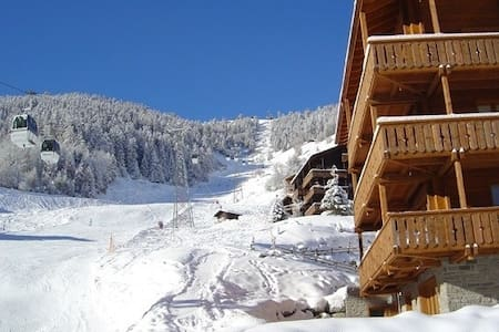Ideal ski-in ski-out cosy apartment - Grimentz - Apartamento