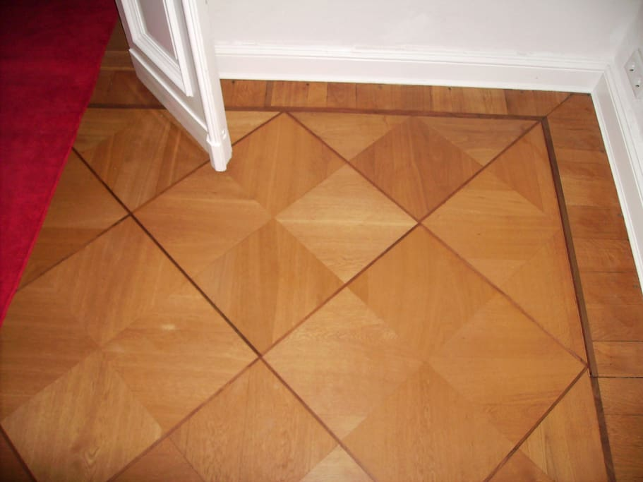 Parquet in the living room