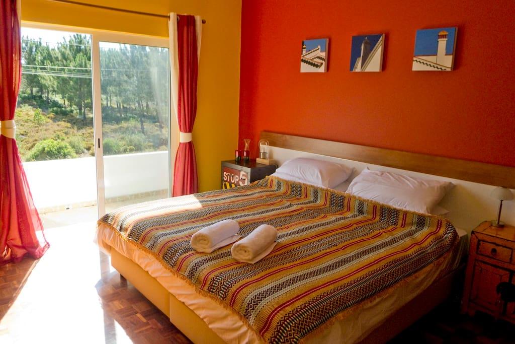 Super Kingsized Double Bed