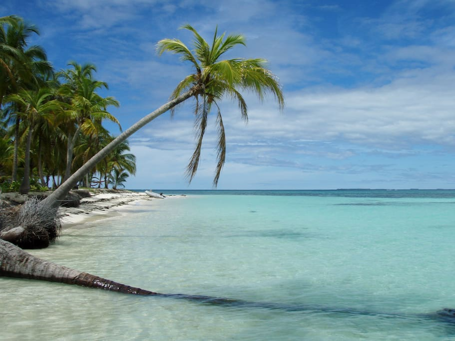 Sun kissed tropical islands visited on Sail LaVie