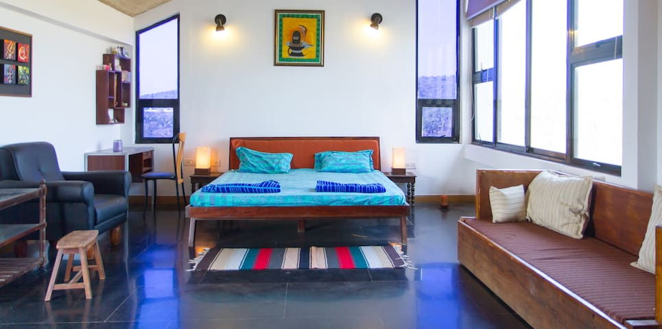 Premium Prvt Pool Villa North Goa close to beach - Goa - Dom