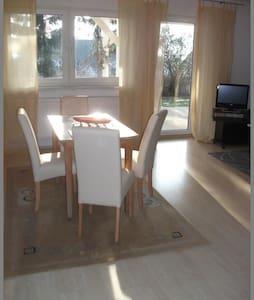 Furnished 2 room apartment - Gädheim - House