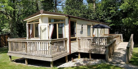 Family and pet friendly caravan in North Cornwall