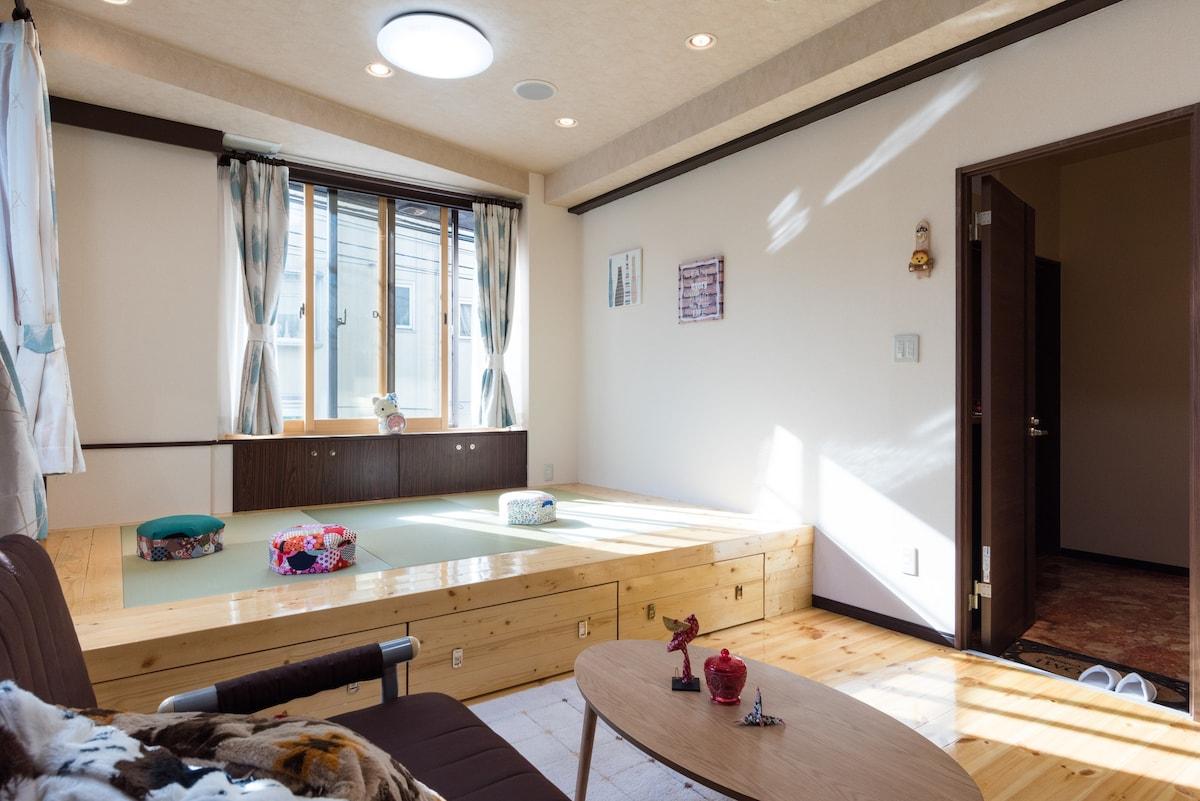 Licensed Shibuya 3min/Good Location/Japanese Room   Houses For Rent In  世田谷区, 東京都世田谷区, Japan