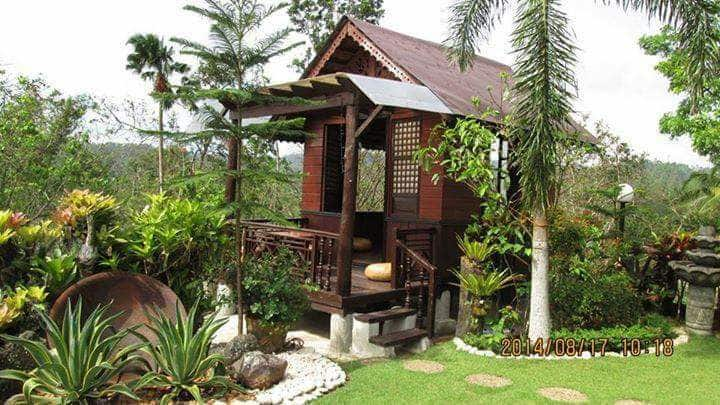 Garden of Gen resort. Traditional Bahay Kubo for 2