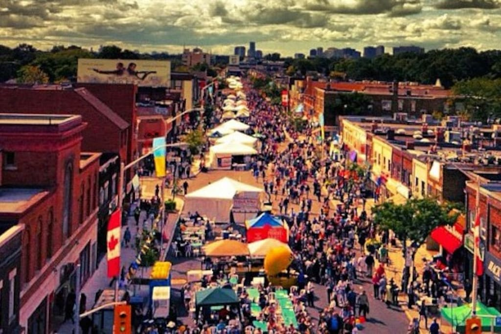 Taste of Little Italy festival in the summer - 5 min from the house