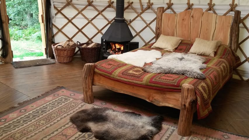 Eco Retreats Meadow Yurt