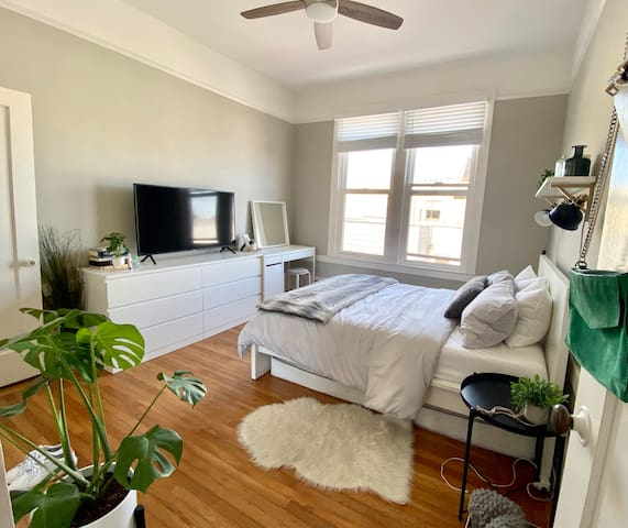 Large, sunny room in Hayes / Duboce