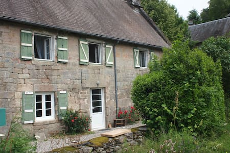 Beautful medieval stone farmhouse - Chaumeil