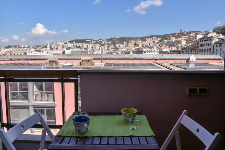 Modern flat in the heart of Genova - Porto Antico