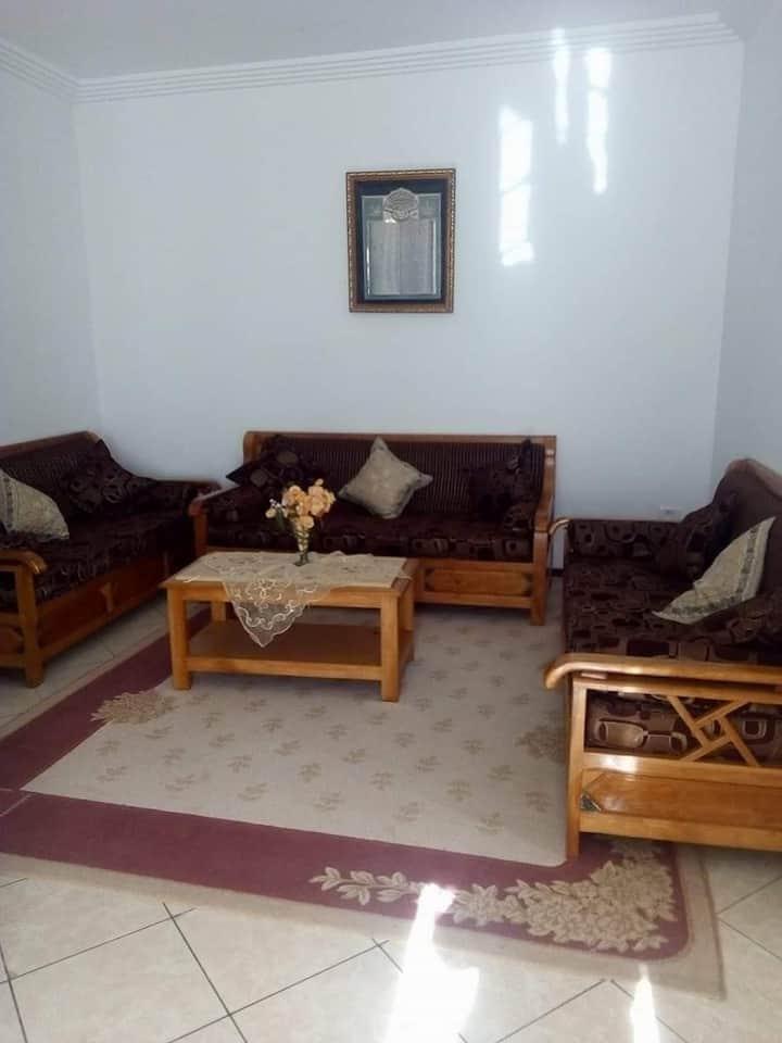 Maison climatisé à 3 Minute plage Mansoura kelibia