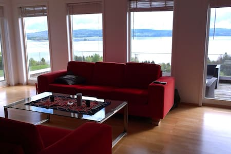 Apartment with beautiful lake view - Rælingen - Haus