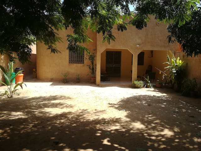 Colocation agréable au coeur d'1 quartier nigérien