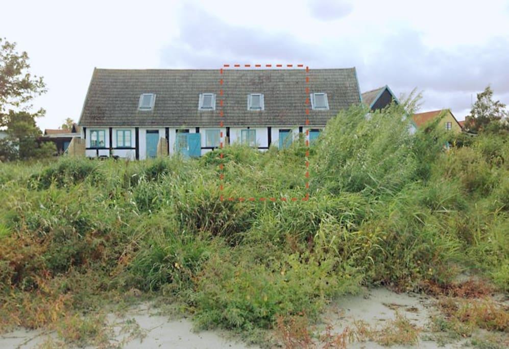 bornholm strandhaus mit meerblick h user zur miete in nex d nemark. Black Bedroom Furniture Sets. Home Design Ideas