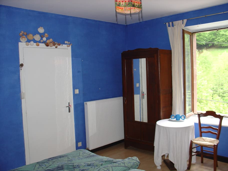 Interior of the Blue Room