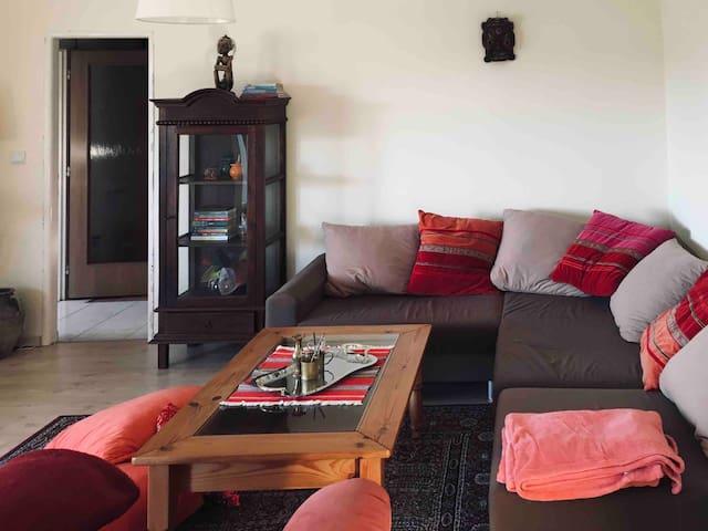 Obývačka v orientálnom štýle