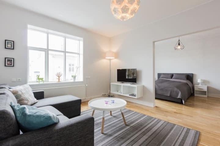 Sunny Central Reykjavík Apartment