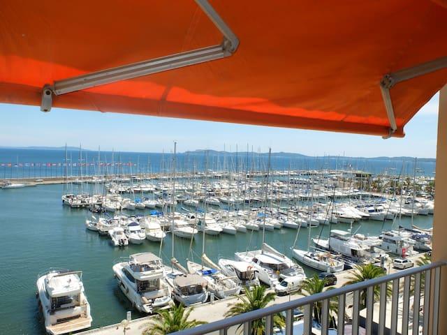 Port d'Hyères Studio 3/4 Pers. vue Mer-Iles