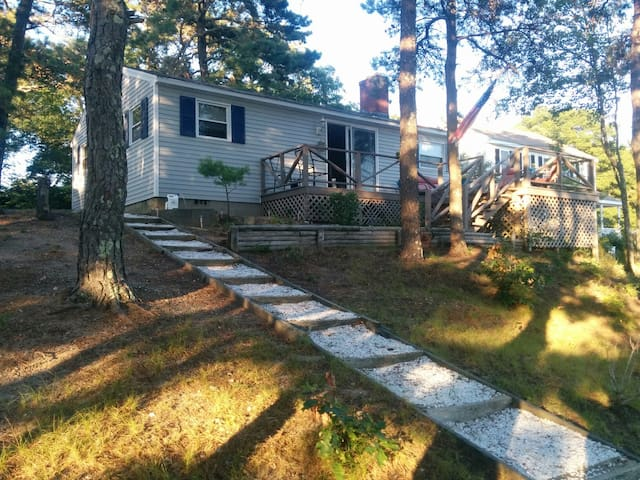 Beautiful cottage overlooking lake - Wareham - Talo