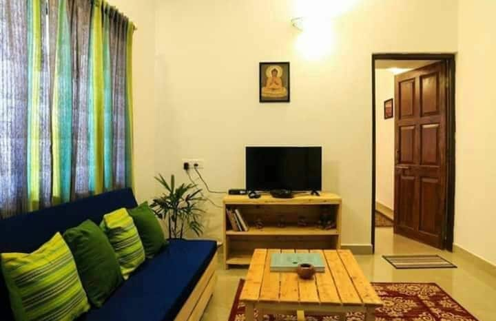 2 bhk cosy stay in Assagao with a  private pool