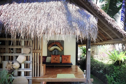 Coco Timber Hut-Ubud