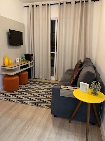 Apartamento Familiar Novo e Aconchegante