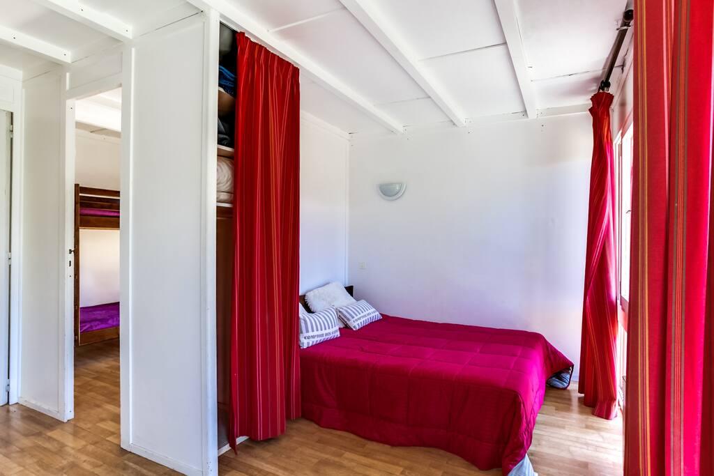 Chambre avec lits double