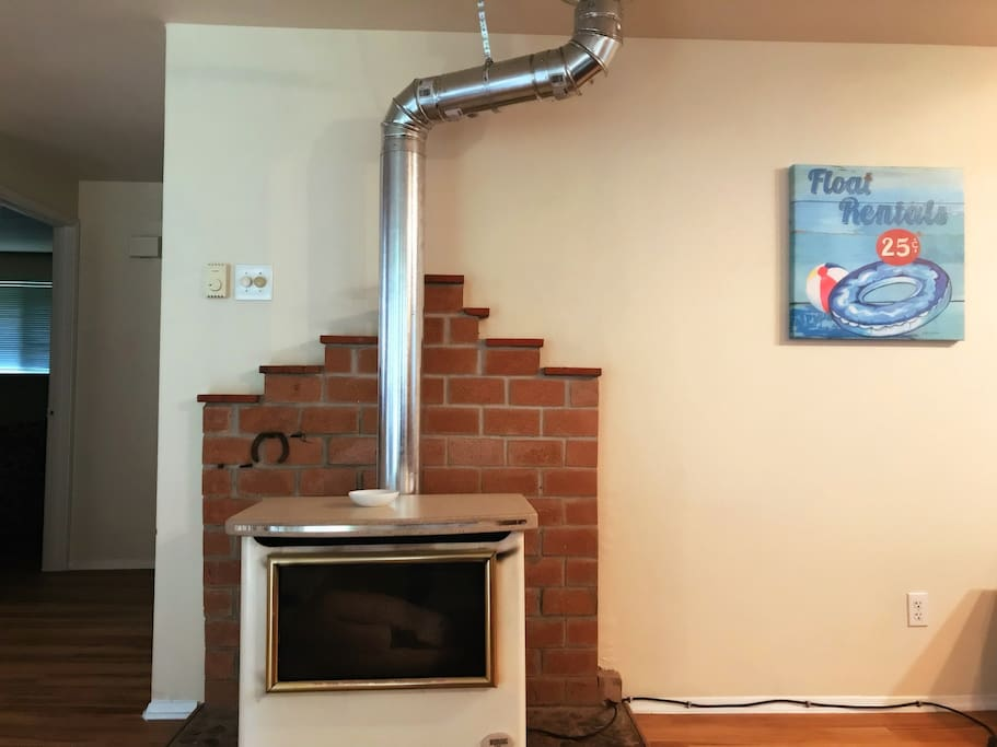 Fireplace/living room