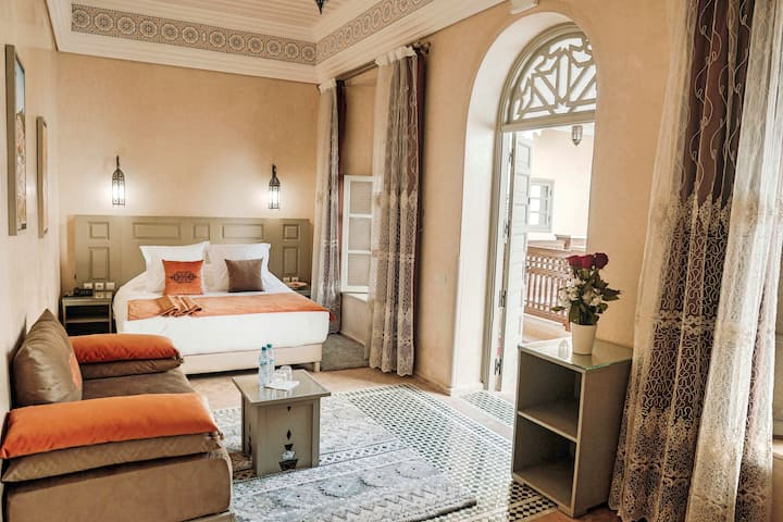 Chambre Standard au Riad Zidania Meknès