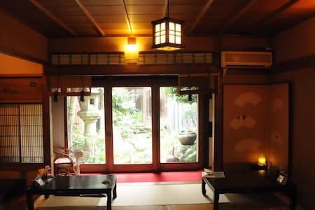 Pure Japanese-style Miyadaiku House near airport - Tokoname