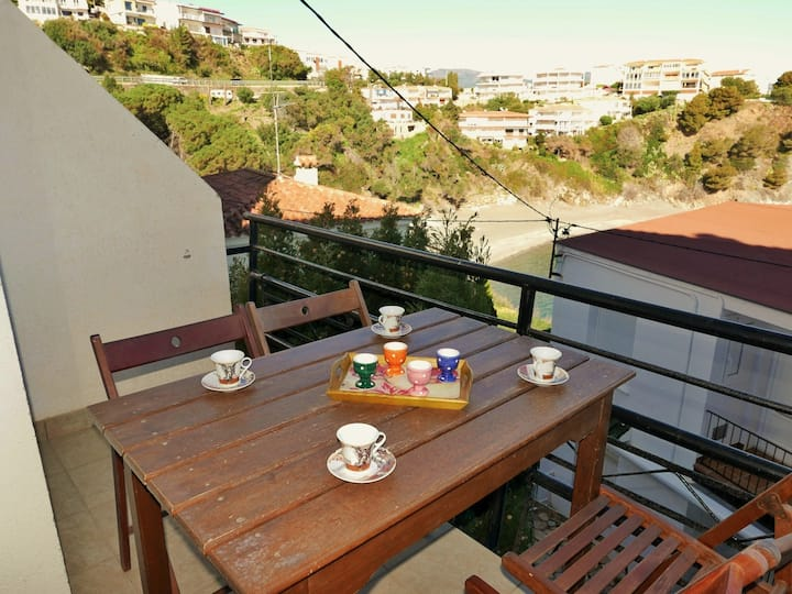 142 Apartment to rent next to the beach with terrace