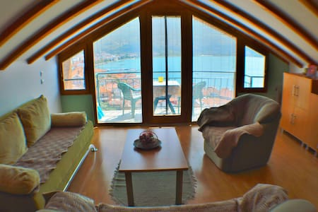Villa Ohrid-Yellow apartment in the old town - アパート