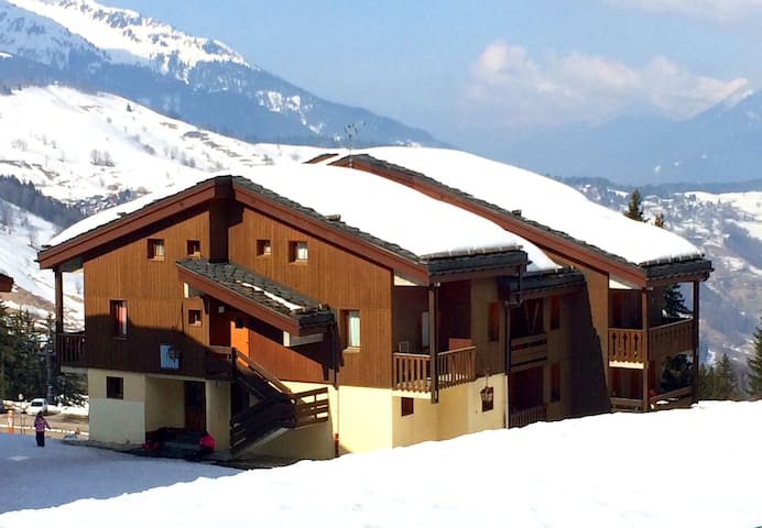 Valmorel - Alps, Large Duplex Appartment, 7 people - Les Avanchers-Valmorel - Apartamento