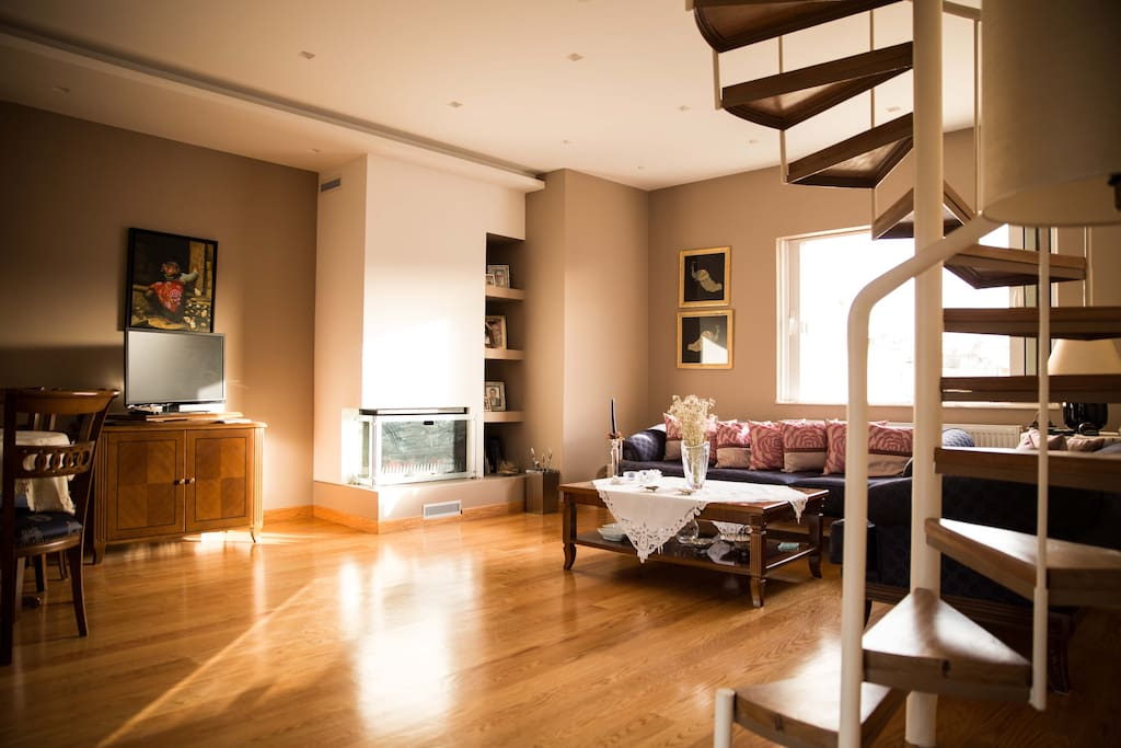 Two floor modern apartment with stunning view apartments for Two floor apartment