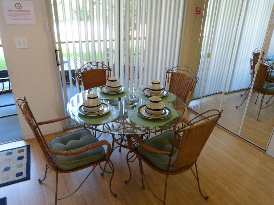 Chair, Furniture, Balcony, Dining Table, Table