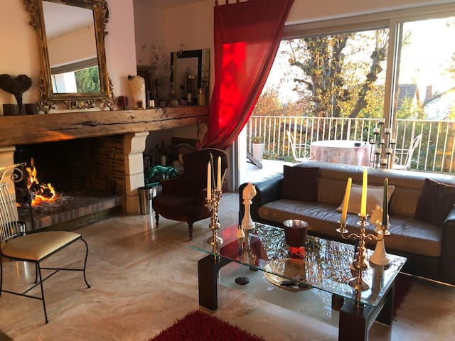 Grand appartement de 100 m2 duplex belle vue