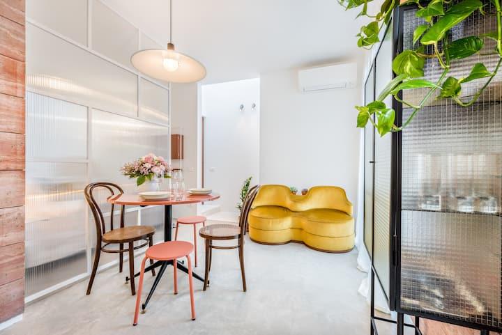 Microcosmo La Spezia_Pink Suite _ Luxury 5 Terre