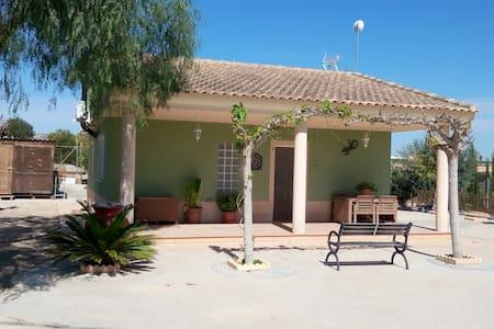 Chalet en zona rural Murcia - Librilla - Lomamökki