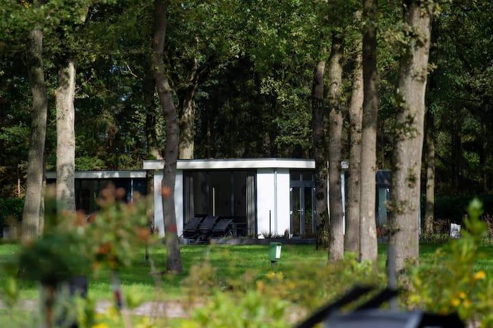 Genieten op park Drentheland/ Drents Friese Wold.